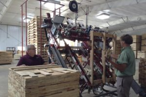 pallet building machines